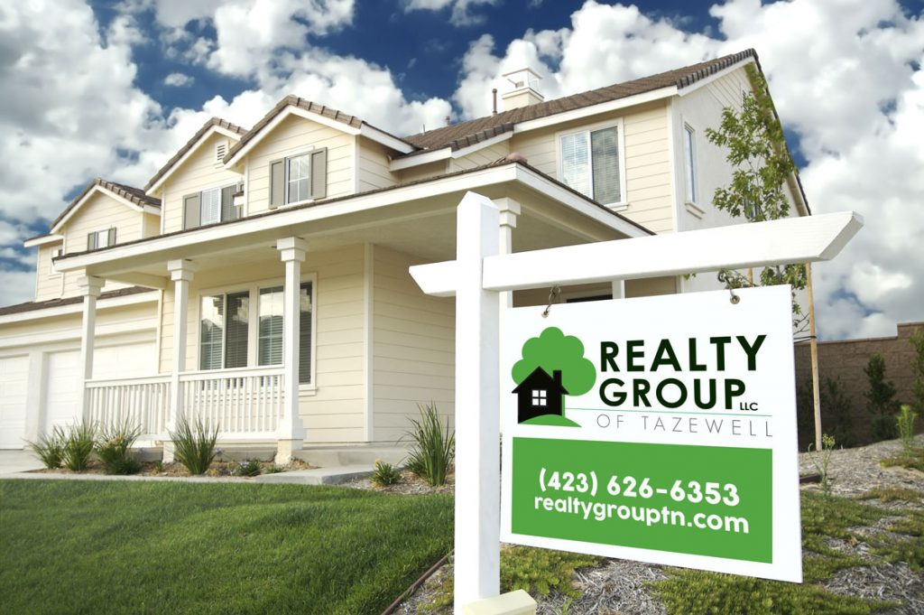 Realty Group- Realty Group of New Tazewell sign